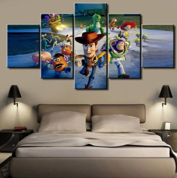 Toy Story Canvas - 5 Pieces