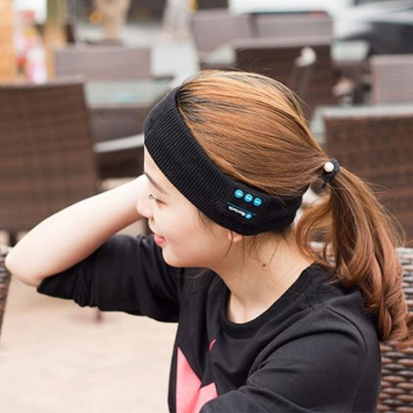 Wireless Bluetooth Headband with Mic