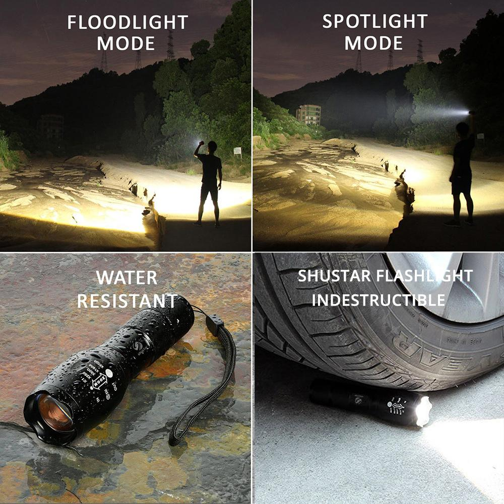 Ultra Bright Zoomable FlashLight