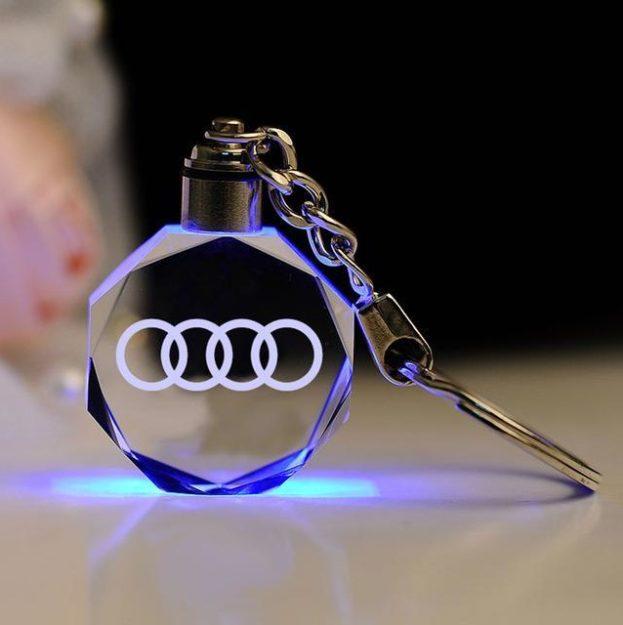 Laser Engraved Car Keychain - All Models