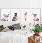 bubble-gum-animals-poster