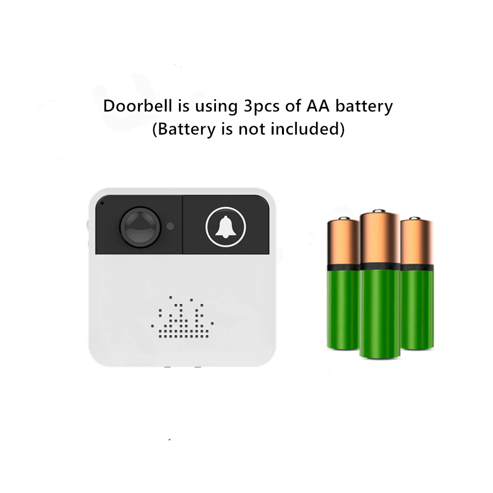 wifi doorbell battery